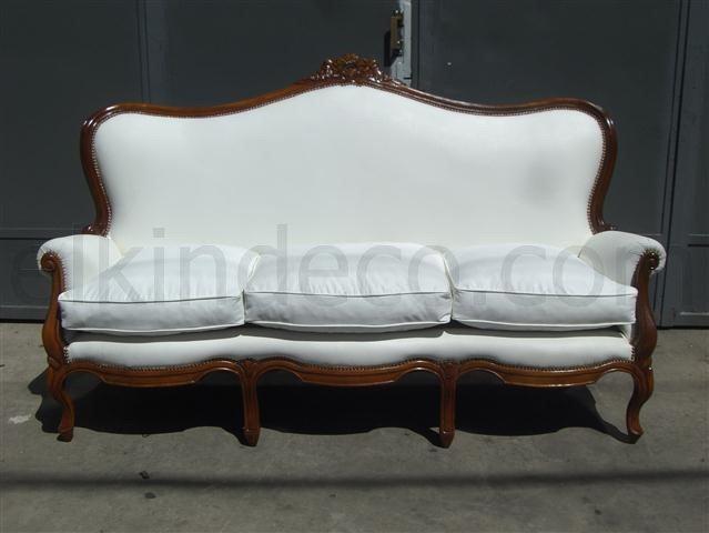 El kin antig edades muebles antiguos decoraci n for Sillones antiguos tapizados
