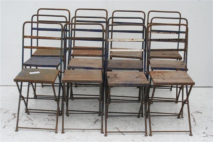 El kin antig edades muebles antiguos decoraci n - Sillas de hierro ...