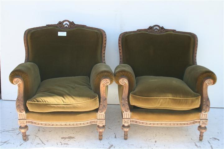 El kin antig edades muebles antiguos decoraci n - Sillones estilo frances ...