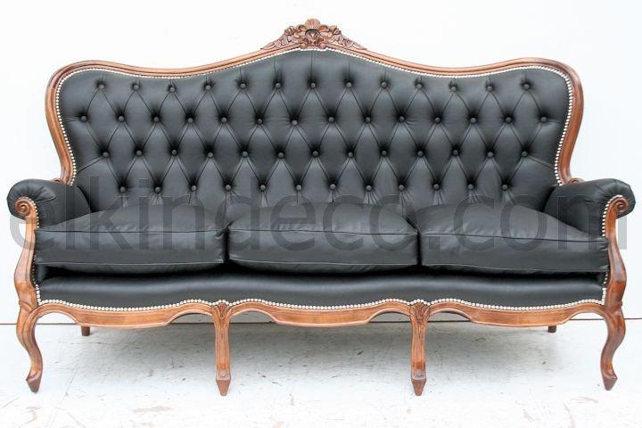 El kin antig edades muebles antiguos decoraci n - Sofas estilo colonial ...