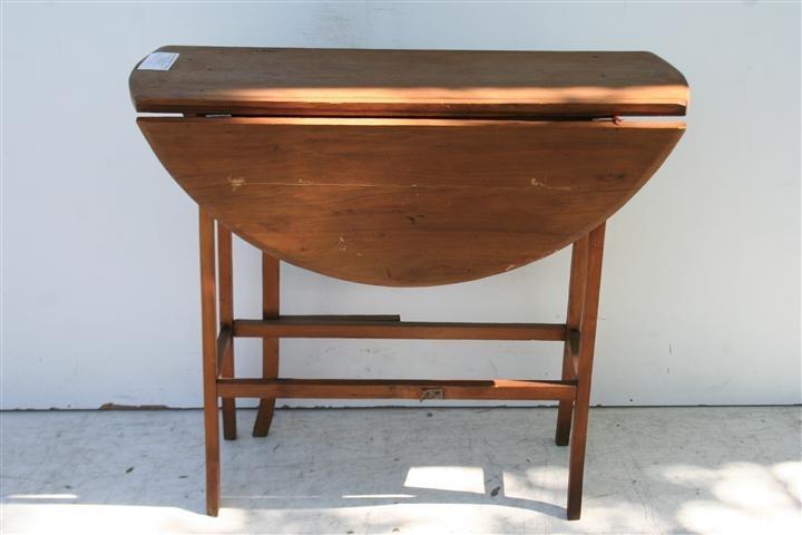 El kin antig edades muebles antiguos decoraci n - Mesas con alas plegables ...