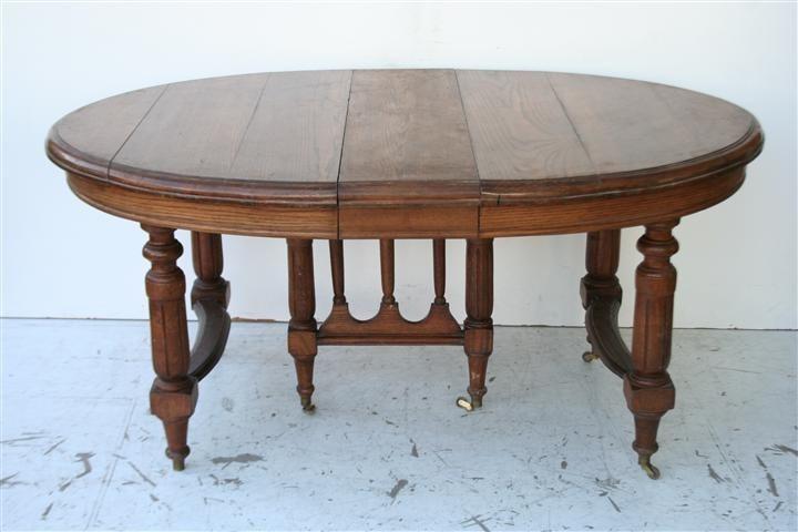 Mesa de comedor antigua de roble - Mesa comedor antigua ...
