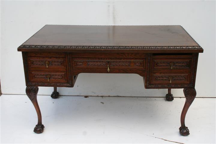 El kin antig edades muebles antiguos decoraci n for Escritorios de estilo nuevos