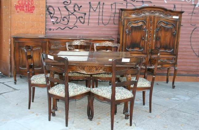 Muebles de comedor antiguos tienda online de antigedades for Muebles de comedor antiguos
