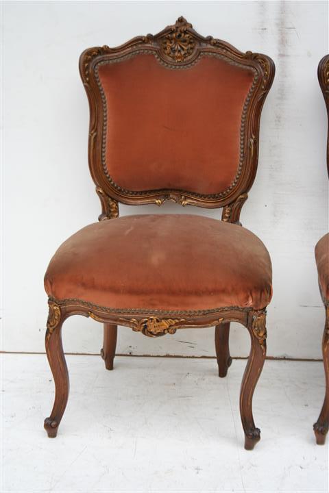 El kin antig edades muebles antiguos decoraci n - Silla estilo luis xv ...