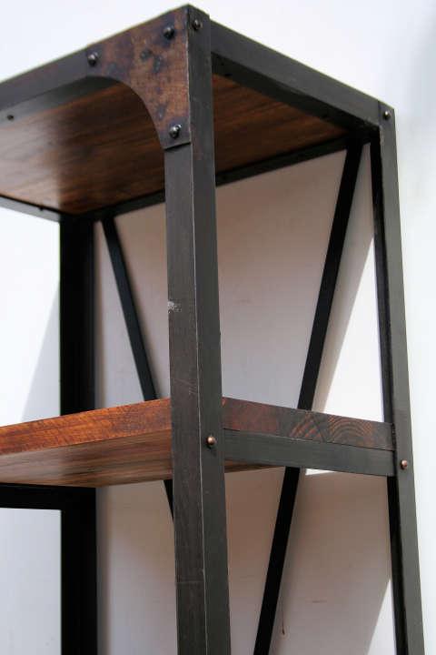 El kin antig edades muebles antiguos decoraci n for Mesa hierro y madera