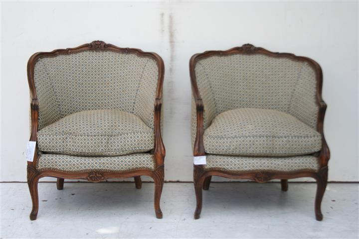 par de sillones estilo francs luis xv